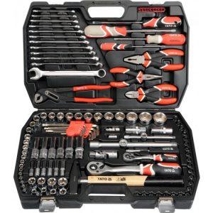 "Tööriista kompl. 122 osaline 1/2"" ja 1/4"""