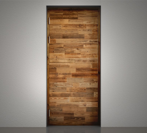 Taaskasutatud puidust uks - Mudel AW/D/04