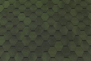 Bituumensindel katus - Hexagonal roheline