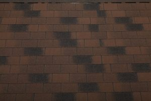Bituumensindel katus - Rectangular pruun