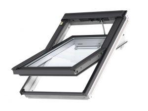 VELUX Premium katuseaken INTEGRA. Polüuretaankattega, valge. Kaugjuhtimisega. 3-kordse klaaspaketiga. GGU 006821