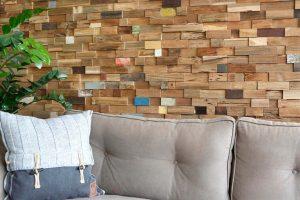 Dekoratiivne puidust seinapaneel PALMA