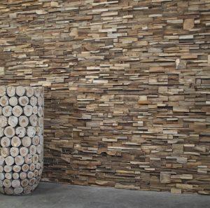 Dekoratiivne puidust seinapaneel ROOT
