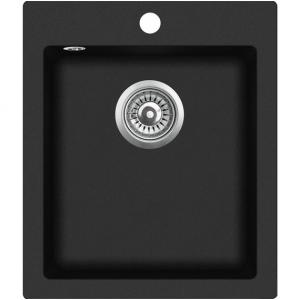 Graniitvalamu 425x500 BLACK METALLIC