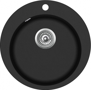 Graniitvalamu 505x505 BLACK METALLIC
