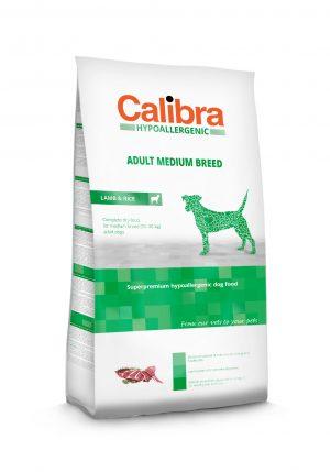 Calibra dog HA Adult Medium breed Lamb & Rice - Kõrgekvaliteediline koeratoit täiskasvanud koertele