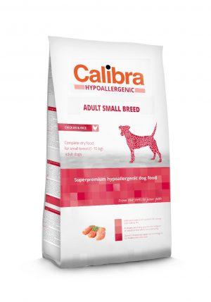 Calibra dog HA Adult Small breed Chicken & Rice - Kõrgekvaliteediline koeratoit täiskasvanud koertele