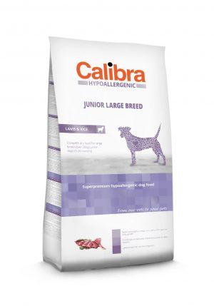 Calibra dog Junior Large breed Lamb & Rice - Kõrgekvaliteediline toit suurt tõugu kasvueas koertele