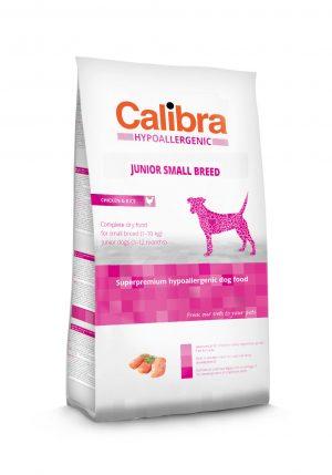 Calibra dog HA Junior Small breed Chicken & Rice - Kõrgekvaliteediline toit kasvueas koertele