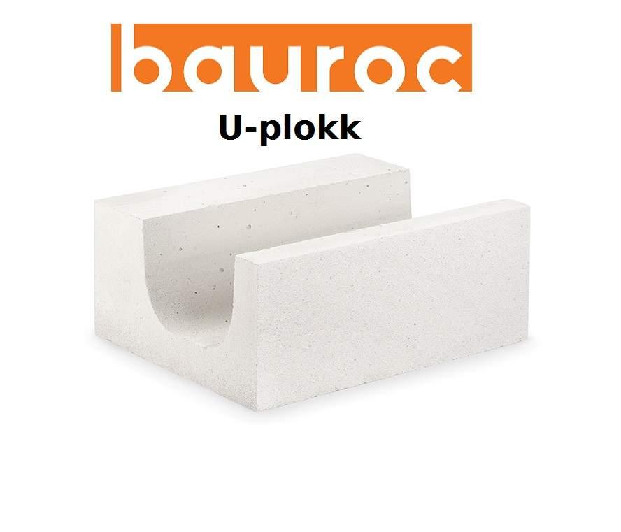 ed39852e861 Bauroc U-plokk 375 x 200 x 500 mm täisalus 20tk | PATMAR