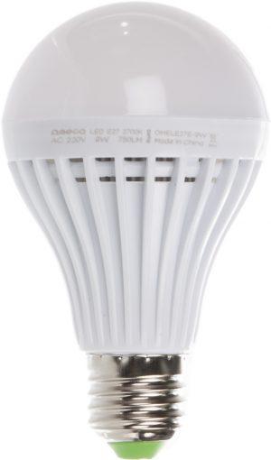 Omega LED lamp E27 9W 2700K (42360)