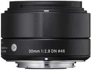 Sigma 30mm f/2.8 DN ART objektiiv Sonyle