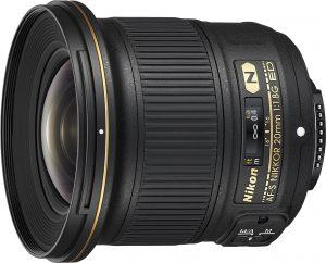Nikon AF-S Nikkor 20mm f/1.8G ED objektiiv