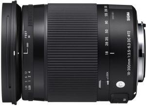 Sigma 18-300mm f/3.5-6.3 DC Macro OS HSM Contemporary objektiiv Nikonile