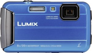 Panasonic Lumix DMC-FT30, sinine