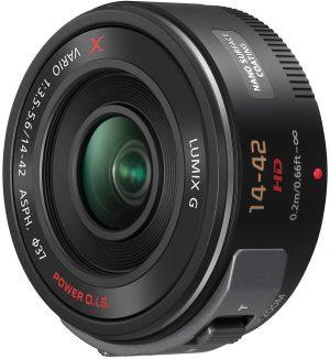 Panasonic Lumix G X Vario PZ 14-42mm f/3.5-5.6 ASPH. Power O.I.S. objektiiv, must