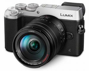Panasonic Lumix DMC-GX8 + 14-140mm Kit, hõbedane