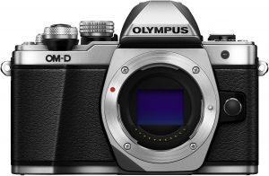 Olympus OM-D E-M10 Mark II kere, hõbedane
