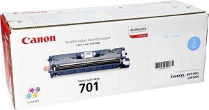 Canon tooner 701, tsüaan (9286A003)