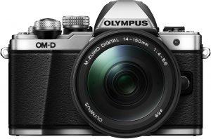Olympus OM-D E-M10 Mark II + 14-150mm Kit, hõbedane/must