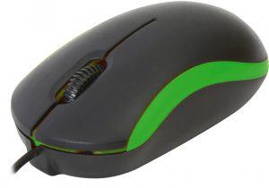Omega hiir OM-07 Optical V2, roheline