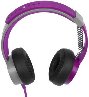 Vivanco kõrvaklapid + mikrofon Play 4 Two, lilla (35547)