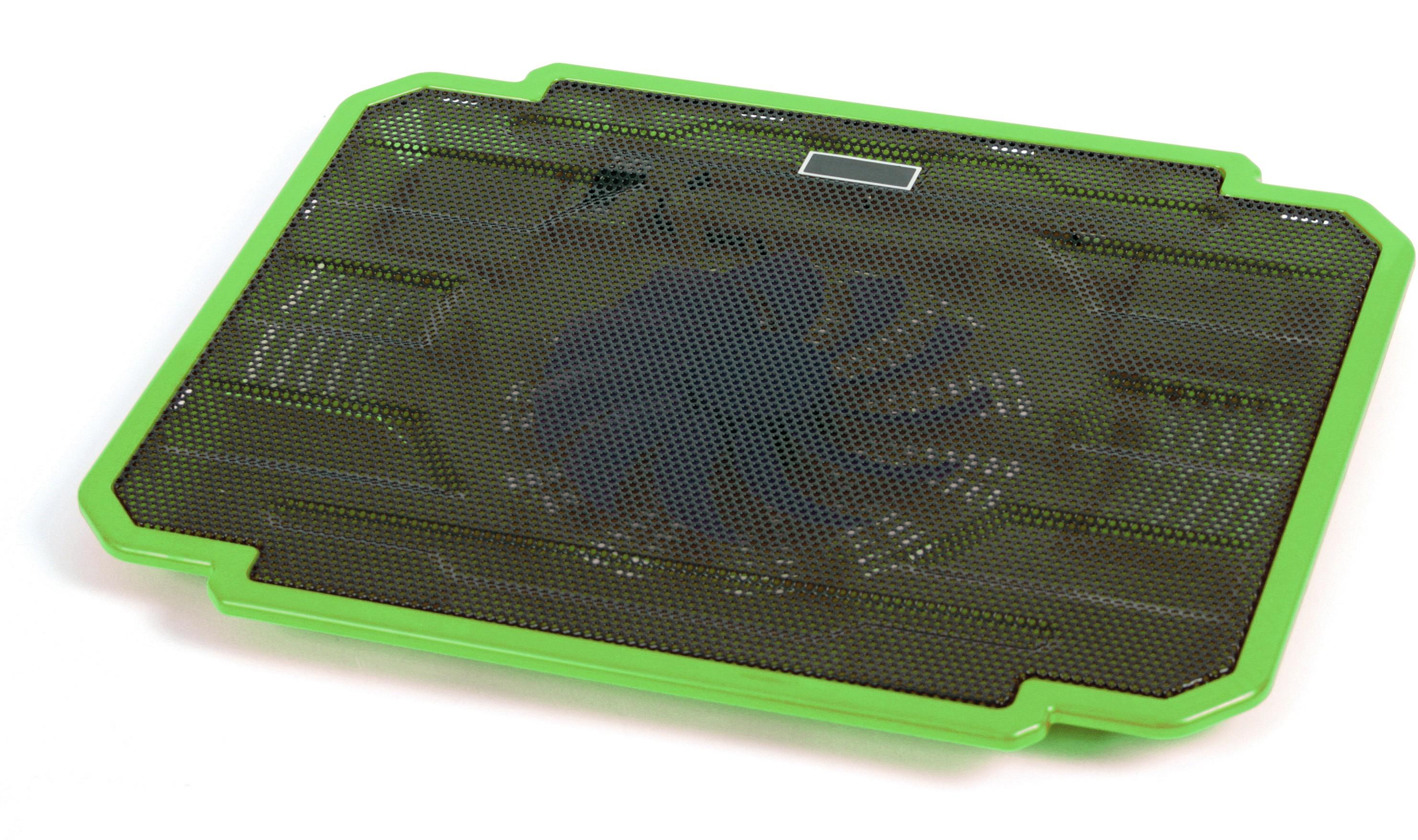 67e7db322f0 Omega sülearvuti jahutusalus Ice Box, roheline     PATMAR