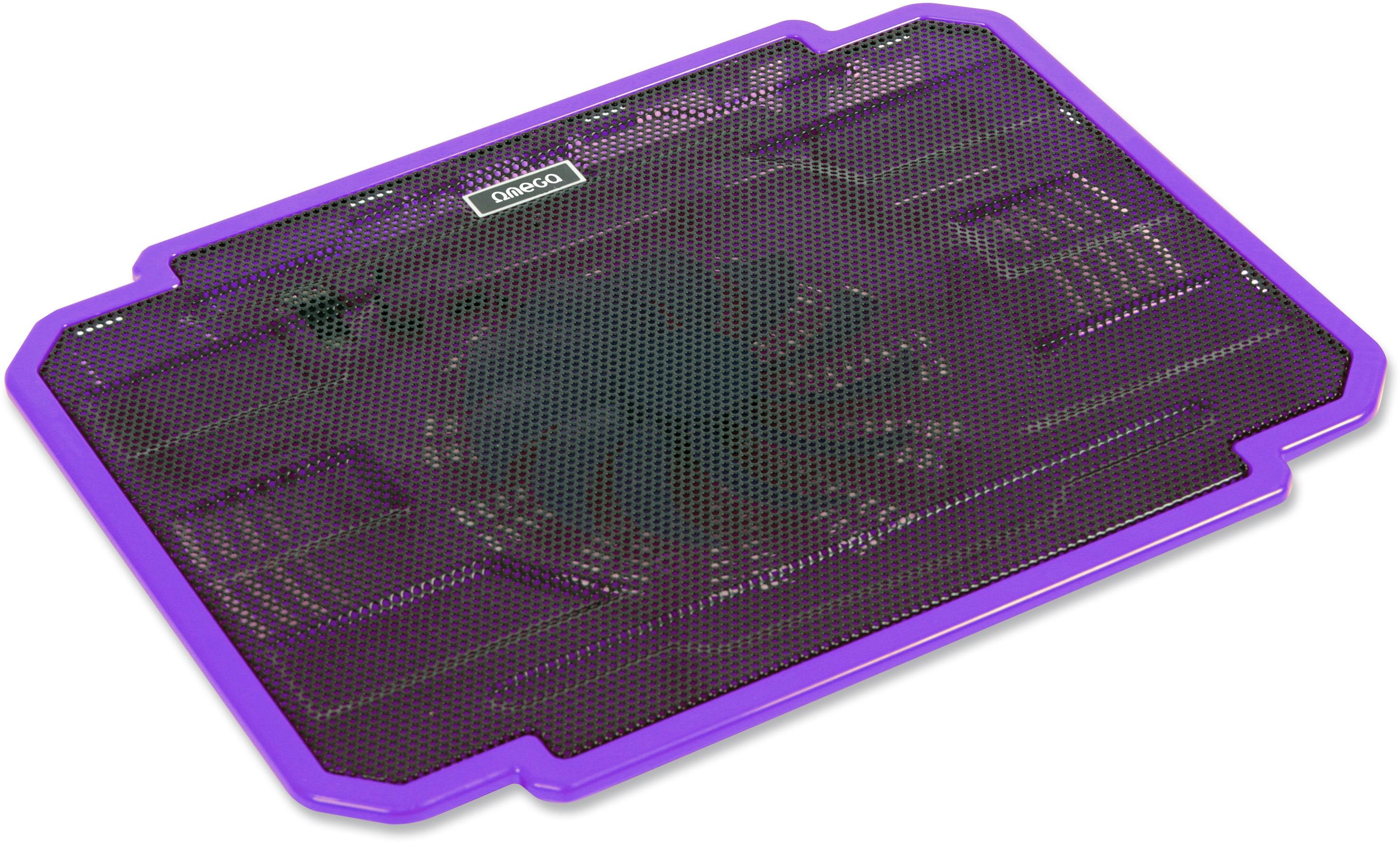 f67af93314a Omega sülearvuti jahutusalus Ice Box, lilla     PATMAR