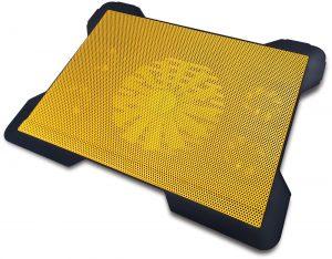 e11b9e645a8 Omega sülearvuti jahutusalus Cyclone, kollane