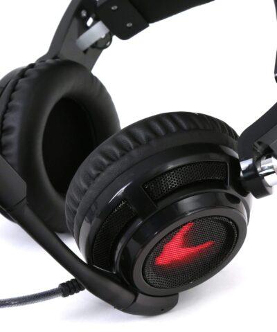Omega kõrvaklapid + mikrofon Varr, must (OVH4055)