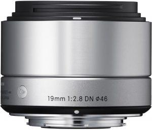 Sigma 19mm f/2.8 DN Art objektiiv Sonyle, hõbedane