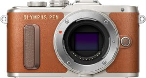 Olympus PEN Lite E-PL8 kere, pruun