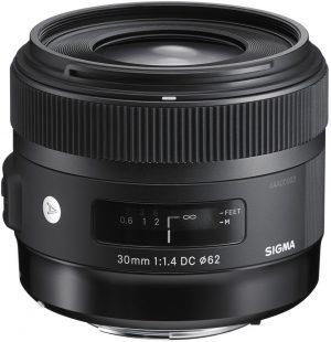 Sigma 30mm f/1.4 DC HSM Art objektiiv Sonyle