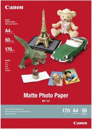 Canon fotopaber A4 170g matt 50 lehte (MP-101)