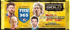 Panini jalgpallikaartide komplekt FIFA 365 Adrenalyn XL Premium Gold 2018