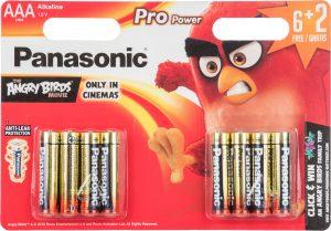 Panasonic patarei LR03PPG/8B (6+2) AB