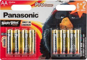 Panasonic patarei LR6PPG/8B (6+2) AB