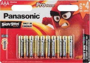 Panasonic patarei LR03PPG/10B (6+4) AB