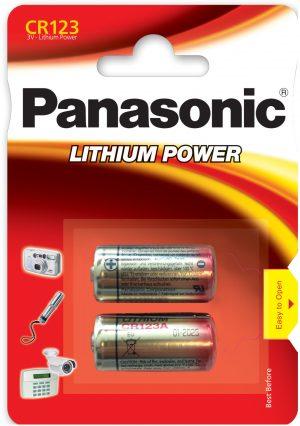 Panasonic patarei CR123AL/2B