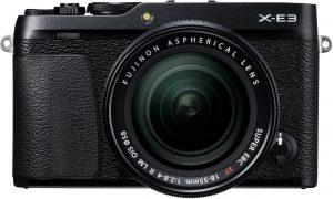 Fujifilm X-E3 + 18-55mm Kit, must