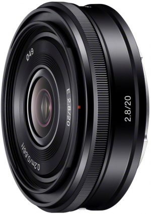 Sony E 20mm f/2.8 objektiiv