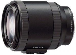 Sony E 18-200mm f/3.5-6.3 OSS Power Zoom objektiiv
