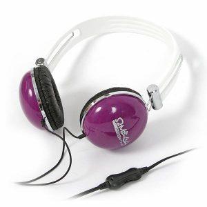 Omega Freestyle kõrvaklapid + mikrofon FH0900, lilla