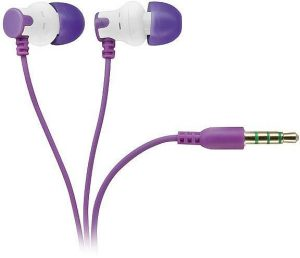 Vivanco kõrvaklapid + mikrofon HS 100 PU, lilla (31432)