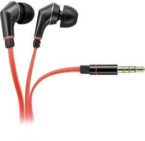 Vivanco kõrvaklapid + mikrofon HS 200 RE, punane (31435)