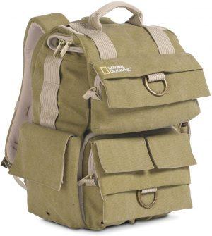 National Geographic seljakott Small Backpack, khaki (NG5158)