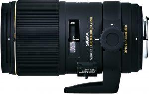 Sigma 150mm f/2.8 EX DG OS HSM APO Macro objektiiv Canonile