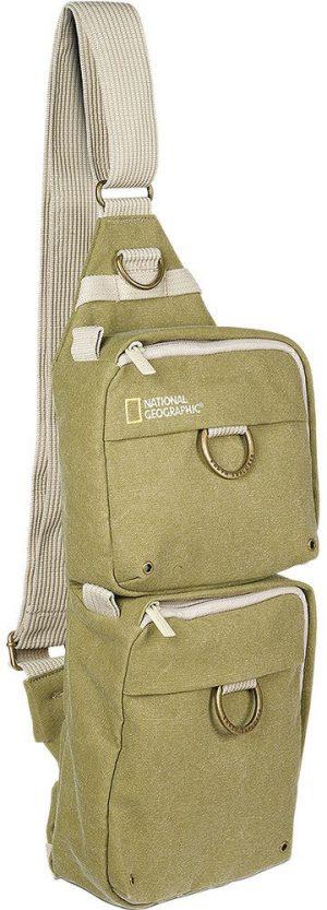 National Geographic õlakott Sling Bag, khaki (NG4475)