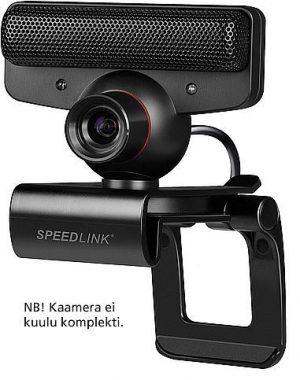 Speedlink veebikaamera hoidja Tork, must (SL-4303)