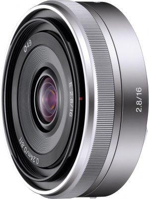 Sony E 16mm f/2.8 objektiiv